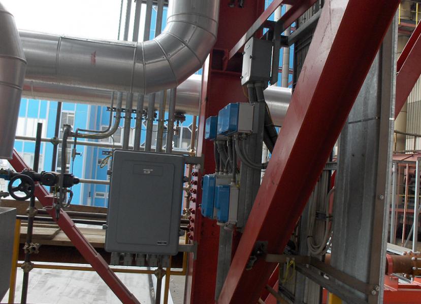Impianto elettrostrumentale dei DENOX Gr. 1 e 2 della C.T.E. di FUSINA (VE)